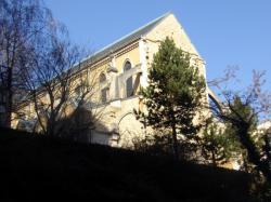 Eglise Saint-André depuis la rue Général Anthelme de Sève