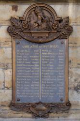 Plaque commémorative en l'honneur des Lyonnais morts pour la patrie pendant la guerre franco-allemande de 1870-1871