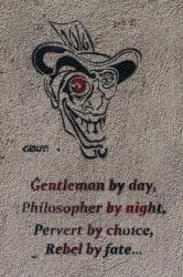 Gentleman by day, philosopher by night