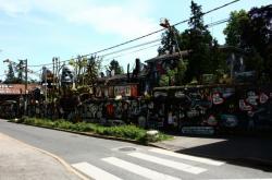 La Demeure du Chaos : vue extérieure, rue de la République