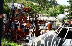 La Demeure du Chaos : parking de l'Hélicoptère