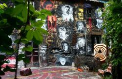 La Demeure du Chaos : vue sur la maison principale