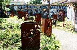 La Demeure du Chaos : emplacement de l'ancien Temple protestant