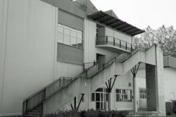 Campus de la Doua, escalier du département Génie Civil
