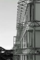 Campus de Bron, façade, piquants