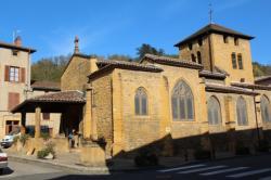 Eglise de Chessy, Vallée d'Azergues