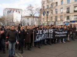 Rue du Pont, 11 janvier 2015, 7e arrondissement