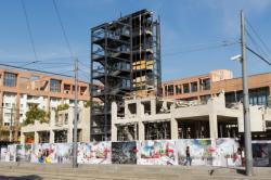 Démolition du bâtiment B10