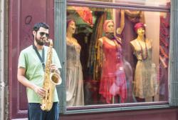 Musicien de rue, Saint-Jean, 5e arrondissement