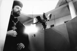 [Athanassios Iskos, recteur de l'Eglise orthodoxe grecque de Lyon]