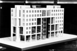 [Maquette du bâtiment B10 (Le Part-Dieu)]