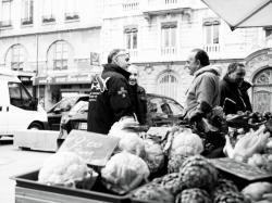 Marché des producteurs de pays, place Carnot