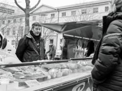 Le boulanger, marché des producteurs de pays