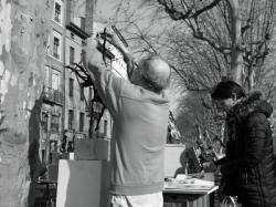 L'artiste, marché de la création