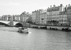 Quai Tilsitt et pont Bonaparte