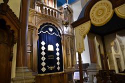 La Grande Synagogue : intérieur du temple