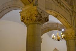 La Grande Synagogue : détail d'un pilier