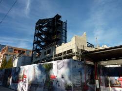Démolition du bâtiment B 10
