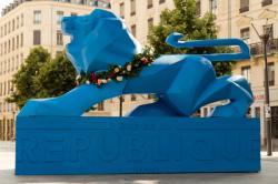 Le lion bleu de Paul Bosland (2015)
