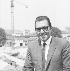 Gérard David, candidat à la députation