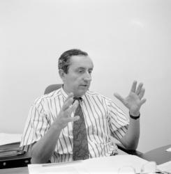 [Jacques Moulinier, adjoint au maire de Lyon]