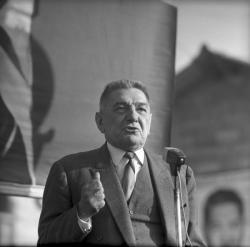 Campagne électorale : Tixier Vignancour