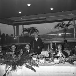 Louis Pradel, Carteron et le président