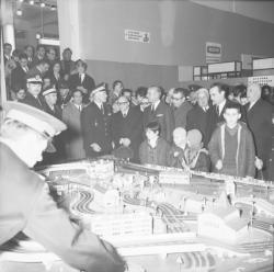 Inauguration de la Foire de Lyon