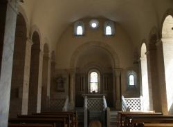 La Basilique Saint-Martin d'Ainay, chapelle Sainte Blandine, vue générale