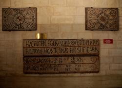 La Basilique Saint-Martin d'Ainay, chapelle Sainte Blandine, mosaïques