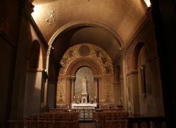 La Basilique Saint-Martin d'Ainay, chapelle de la Sainte Vierge, vue générale
