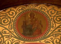 La Basilique Saint-Martin d'Ainay, chapelle de la Sainte Vierge, détail