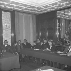 Réunion du Parti Communiste au Grand-Hôtel