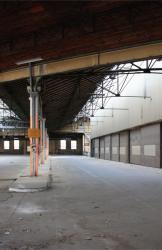 Dépôt de tramways OTL dit dépôt Parmentier, vue intérieure
