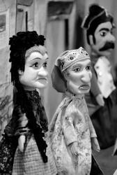 [Marionnettes à gaine lyonnaises (coll. Jean-Guy Mourguet)]