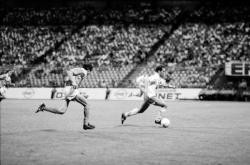 [Football : AS Saint-Etienne - Paris Saint-Germain (1-2)]