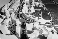 [Lyon 2010 : le techno-port de Gerland (maquette)]