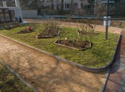 """[Ancien cimetière de la Croix-Rousse, """"Jardin du souvenir""""]"""