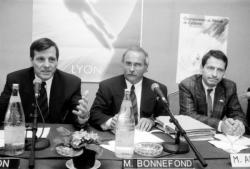 [Championnats du monde de cyclisme sur piste (1989) : conférence de presse]