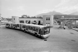 [Bus de grande longueur à Chambéry (Savoie)]