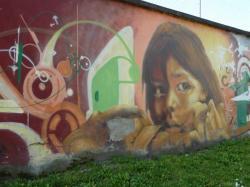 Fresque des droits de l'Enfant, Lyon 8ème