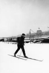 [Le quai Victor-Augagneur sous la neige]