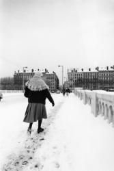 [Le pont Wilson sous la neige]