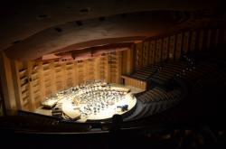 La scène de l'auditorium