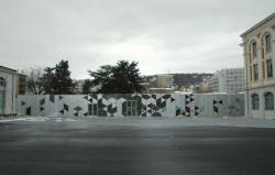 La Cité du design sous la neige