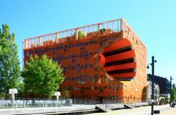 Le Cube Orange, Jakob + Macfarlane Architects