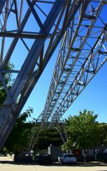 Pont portique