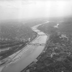 Lyon autour du pont de la Boucle