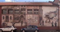 [Mur peint, dépôt TCL, 96 avenue Alexandre Lacassagne]