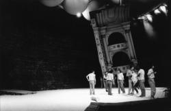 """[8e Festival Berlioz (1987) : préparatifs de l'opéra """"Les Troyens""""]"""